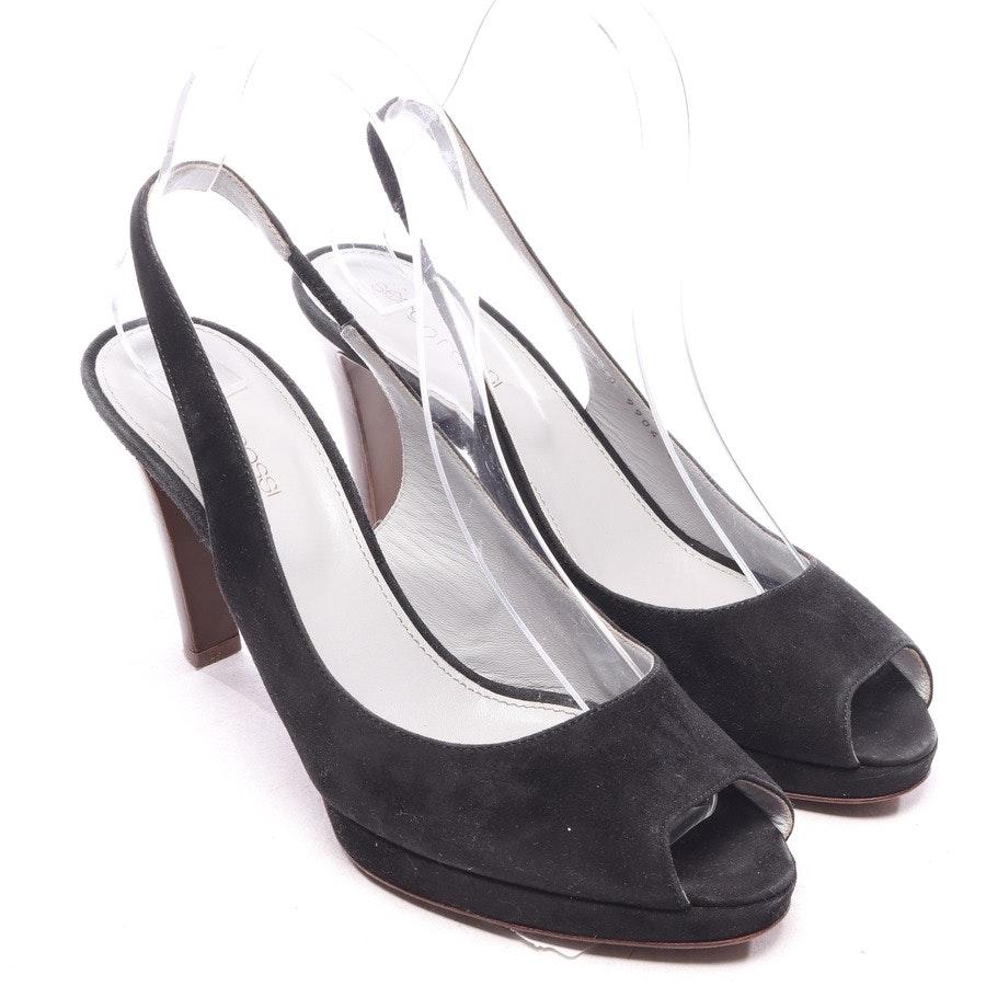 Sandaletten von Sergio Rossi in Schwarz Gr. EUR 38