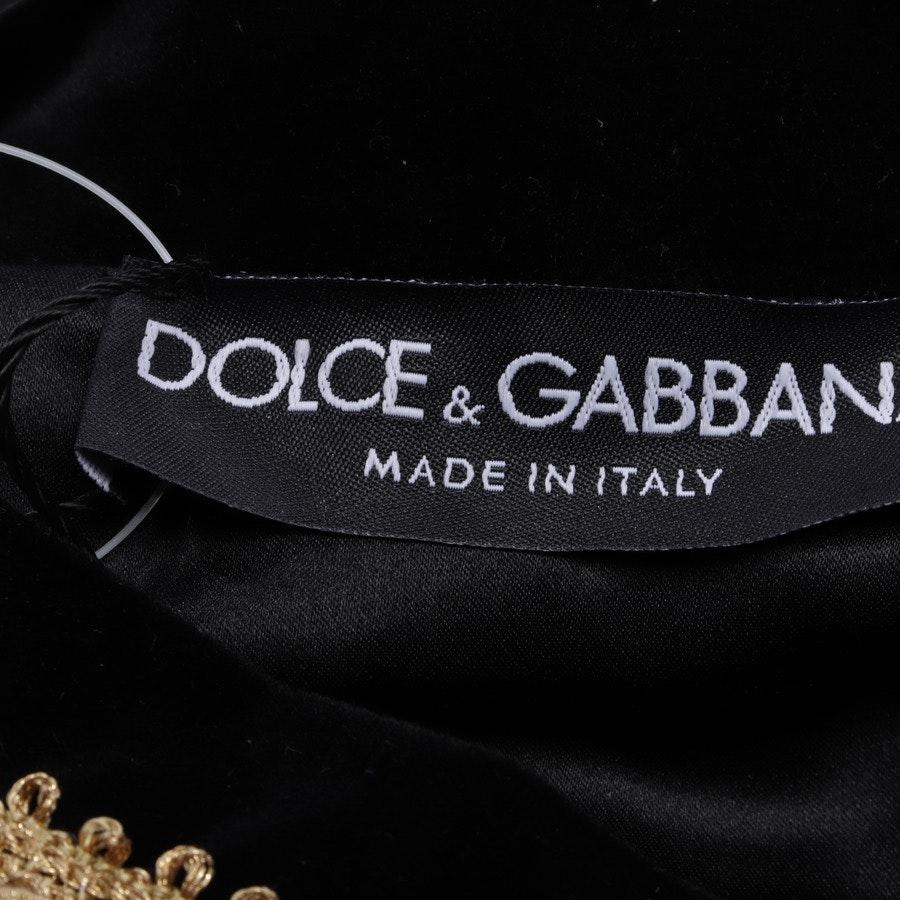 Kapuzenpullover von Dolce & Gabbana in Schwarz und Gold Gr. 42 IT 48 - Neu