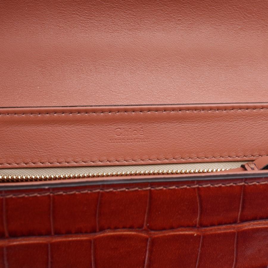 shoulder bag from Chloé in cognac - c bag - new