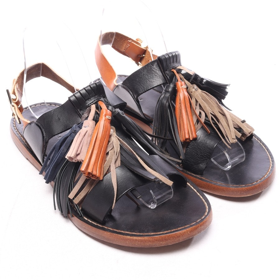 flat sandals from Isabel Marant Étoile in black and brown size EUR 39