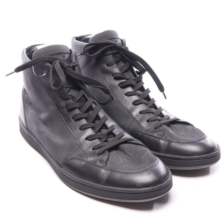 High-Top Sneaker von Louis Vuitton in Anthrazit und Schwarz Gr. EUR 44 UK 9,5