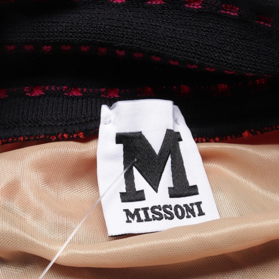 Midikleid von Missoni M in Schwarz und Rot Gr. 32 IT 38