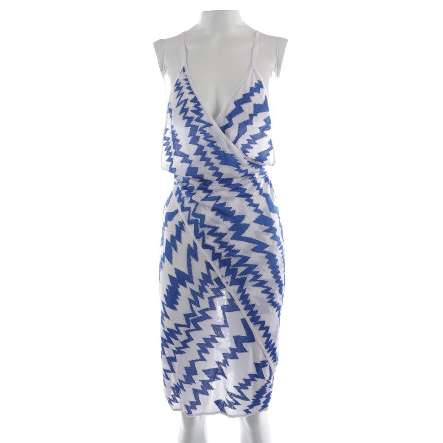 dress from Missoni in white and blue size 32 IT 38