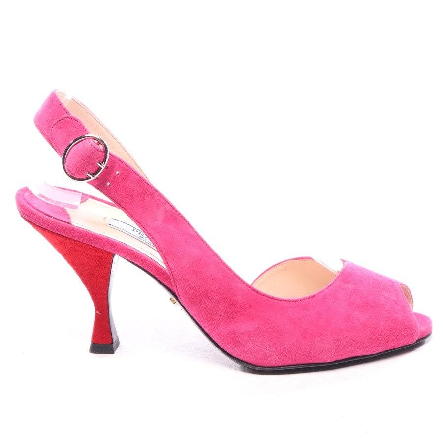Sandaletten von Prada in Pink und Rot Gr. EUR 37,5 - Neu