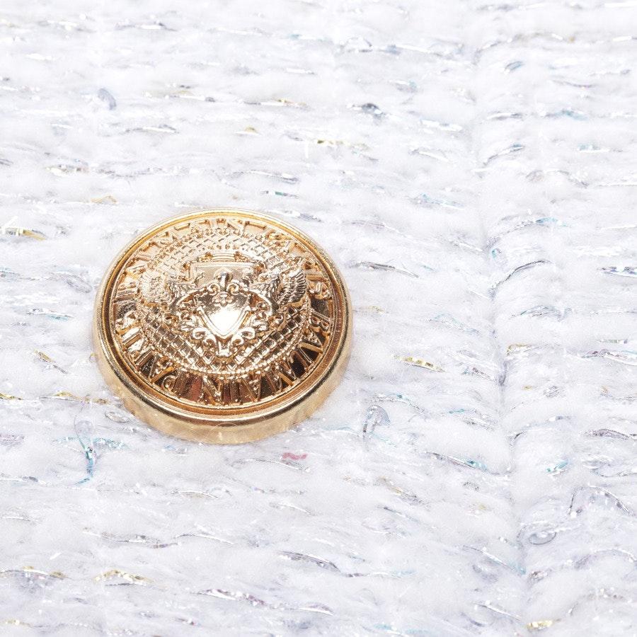Strickkleid von Balmain in Weiß Gr. 38 FR 40 - NEU mit Etikett