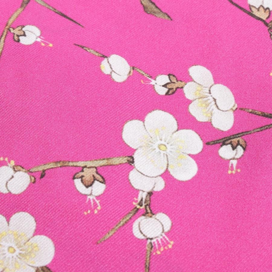 Seidenkleid von Anni Carlsson in Pink Gr. 42