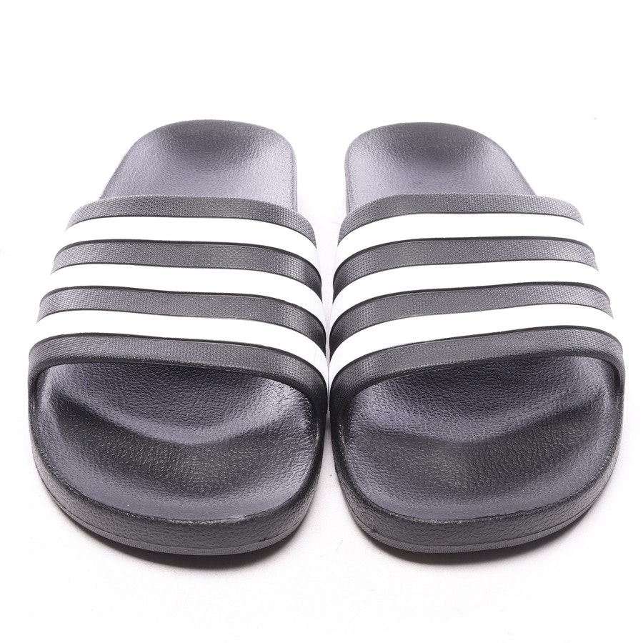 flat sandals from Adidas in black and white size EUR 46 - new