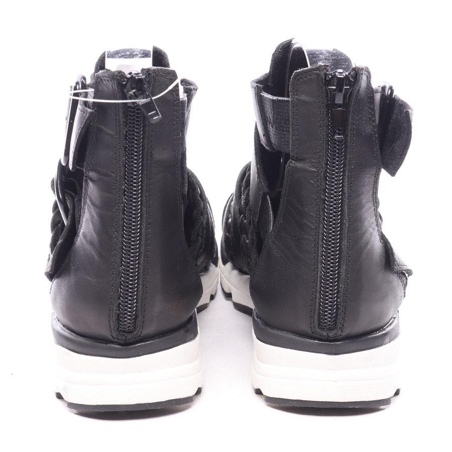High-Top Sneaker von Jeffrey Campbell in Schwarz und Weiß Gr. EUR 37
