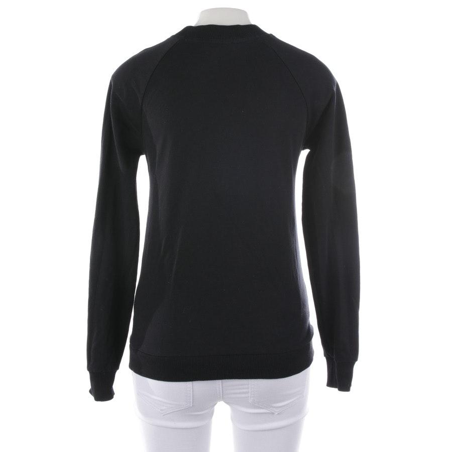 Sweatshirt von Balmain in Schwarz und Weiß Gr. 32 FR 34