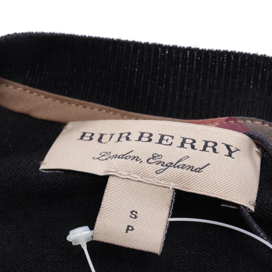 Wollpullover von Burberry in Schwarz und Gold Gr. S - Neu