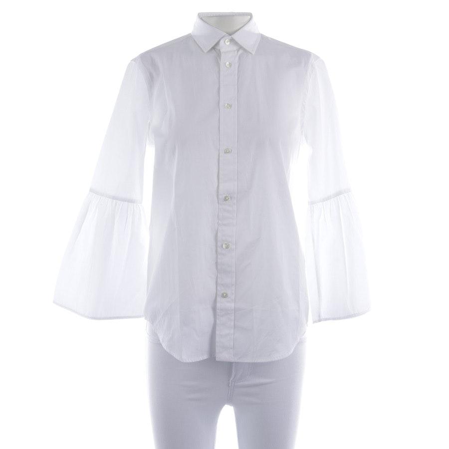Bluse von Polo Ralph Lauren in Weiß Gr. 30 US 0