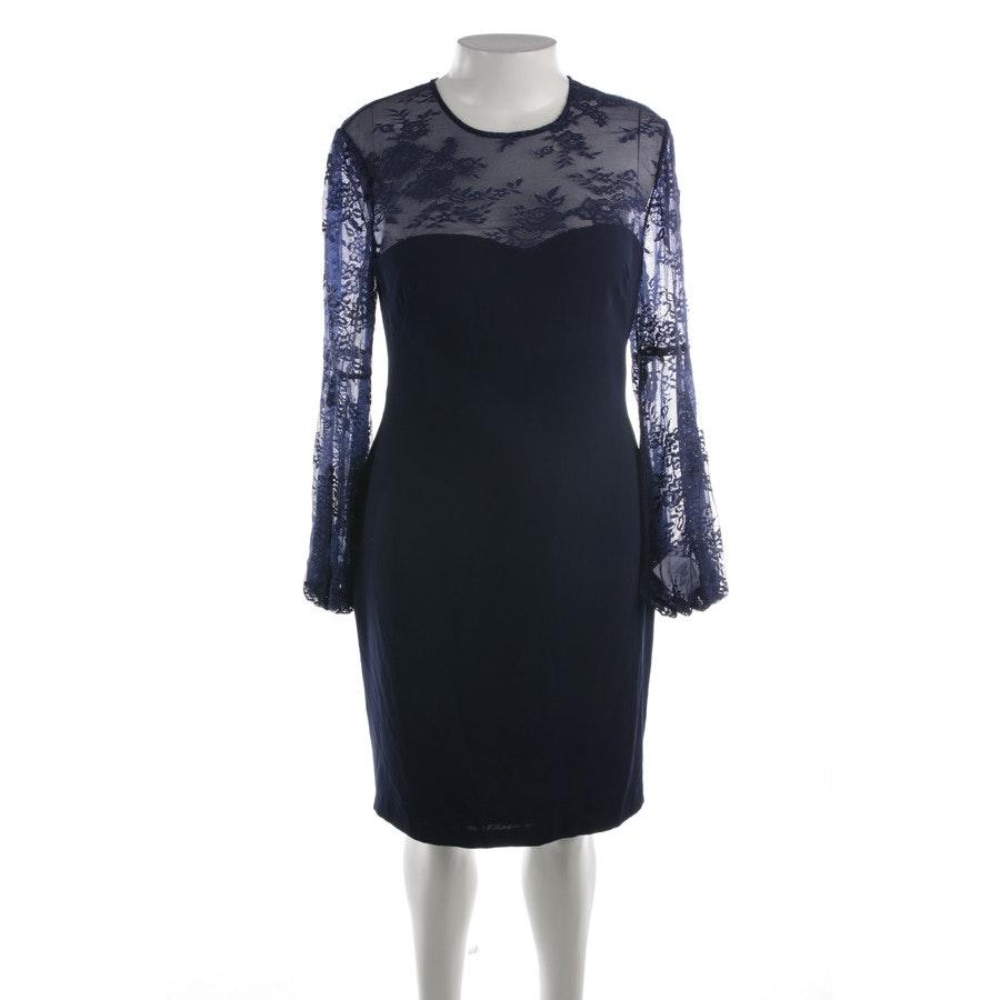 Kleid von Mikael Aghal in Dunkelblau Gr. 44 US 14 - Neu