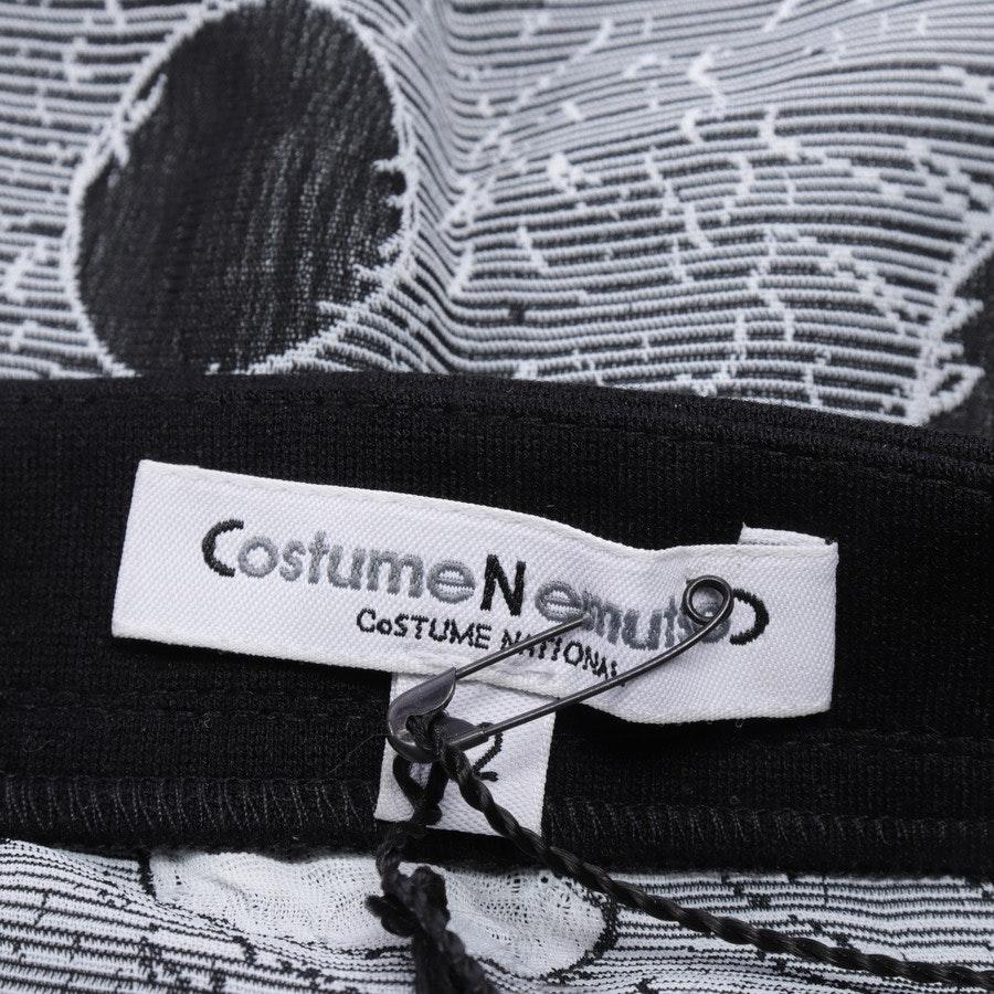 Rock von Costume Nemutso by Costume National in Schwarz und Weiß Gr. 36 IT 42 - Neu