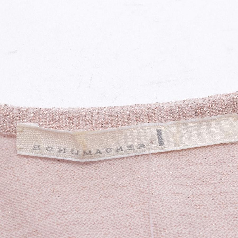 Strickjacke von Schumacher in Rosa Gr. 36 / 2