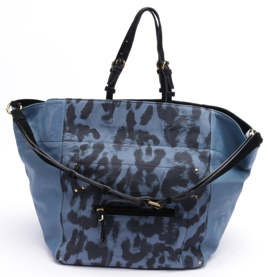 shopper from Jérôme Dreyfuss in blue and black