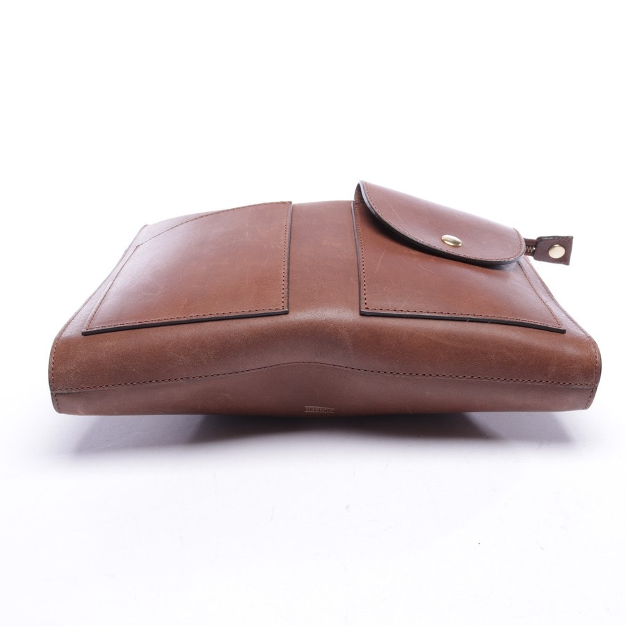 shoulder bag from Closed in apricot and brown