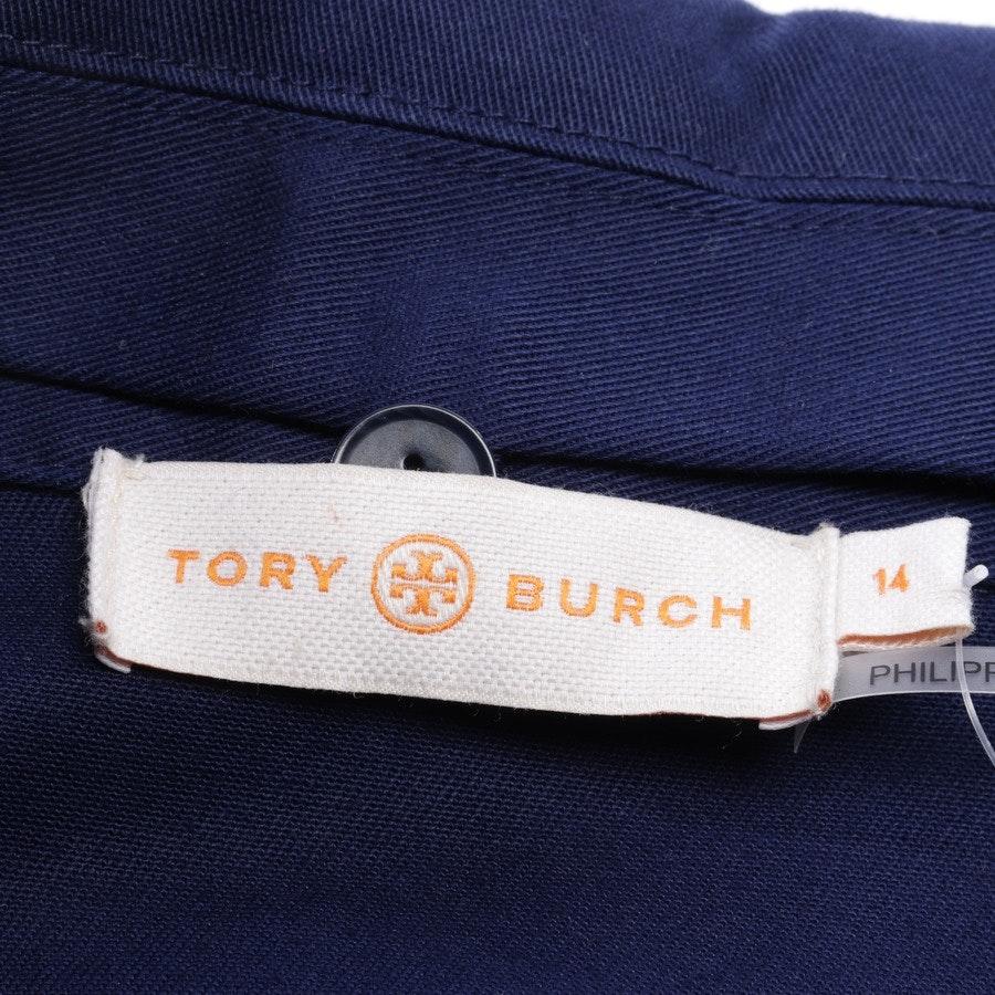 Sommerjacke von Tory Burch in Blau Gr. 44 US 14
