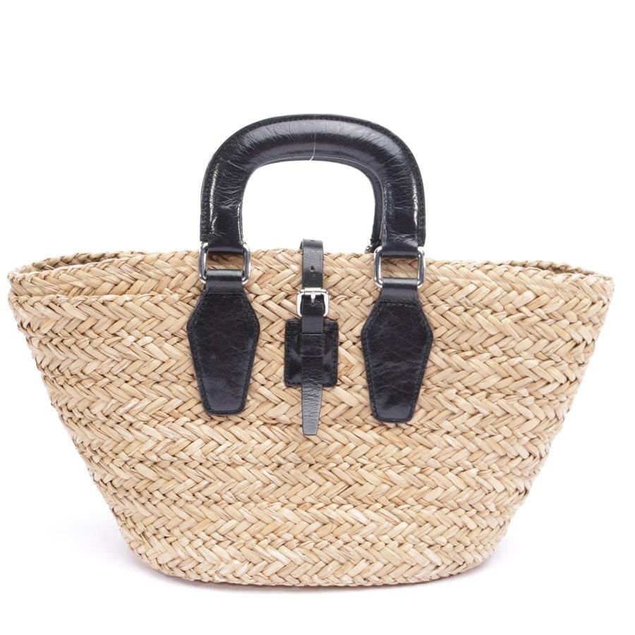 Handtasche von D&G in Beige und Schwarz