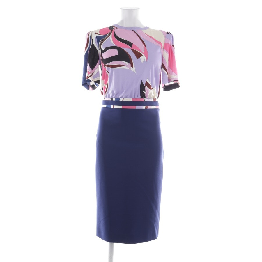 dress from Emilio Pucci in navy blue and multicolor size 36 - new