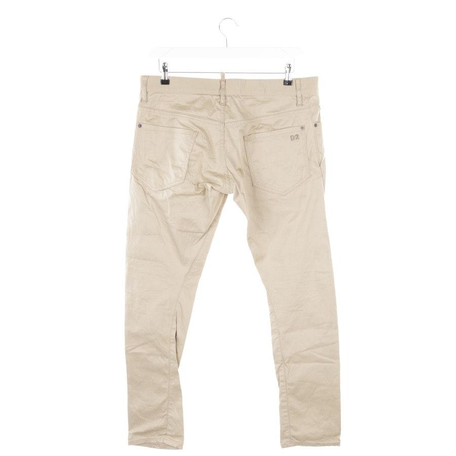 Jeans von Dsquared in Beige Gr. 44 IT 50