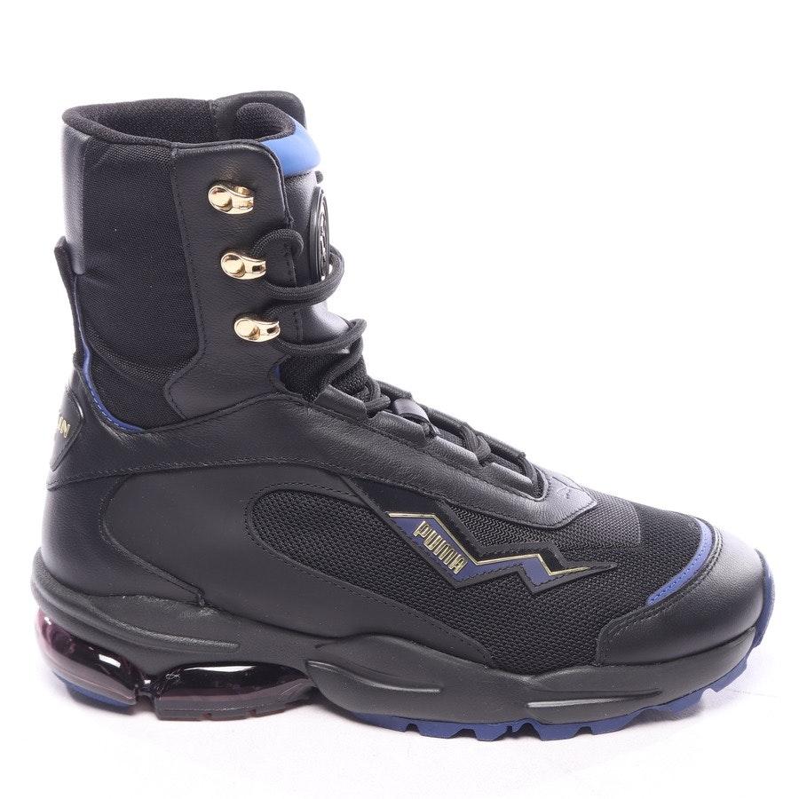 High-Top Sneaker von Puma x Balmain in Schwarz und Blau Gr. EUR 38,5 - Neu