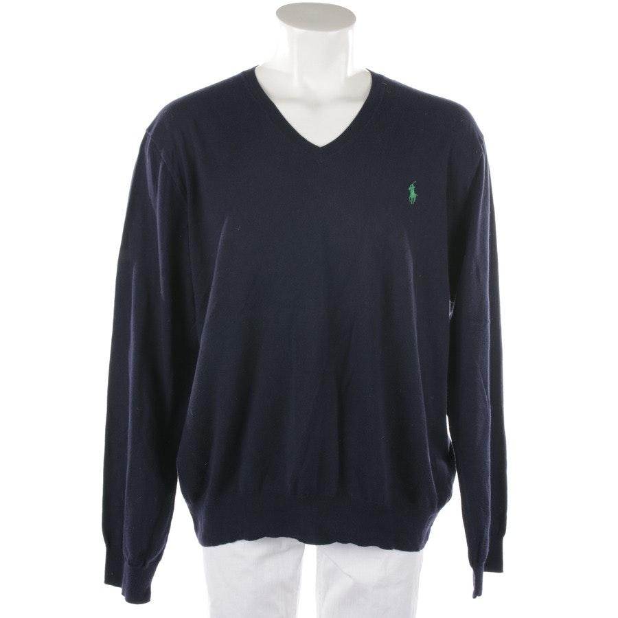 Strickpullover von Polo Ralph Lauren in Nachtblau Gr. XL - Slim Fit