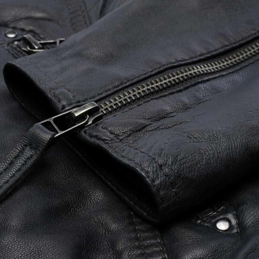 leather jacket from Oakwood in blue size M