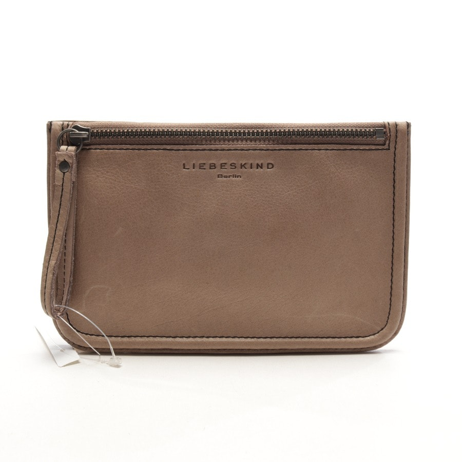 leather case from Liebeskind Berlin in taupe - kiwi2 - new