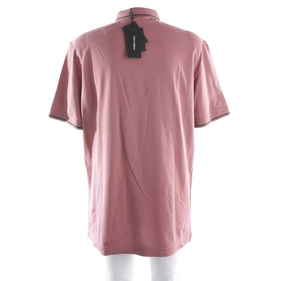 Poloshirt von Dolce & Gabbana in Altrosa Gr. 58 - Neu