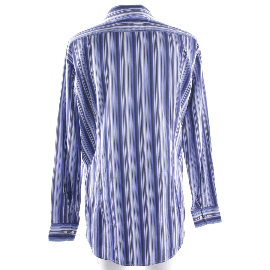casual shirt from Etro in blue and white size 44