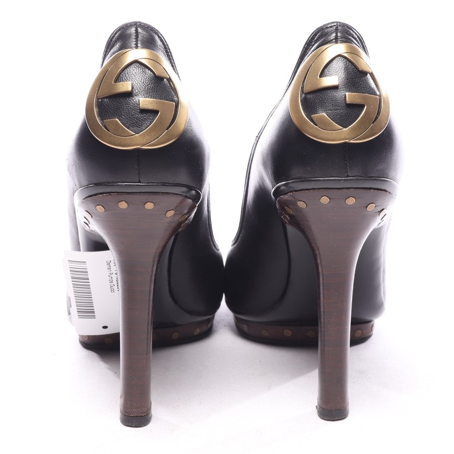 pumps from Gucci in black and brown size EUR 37,5