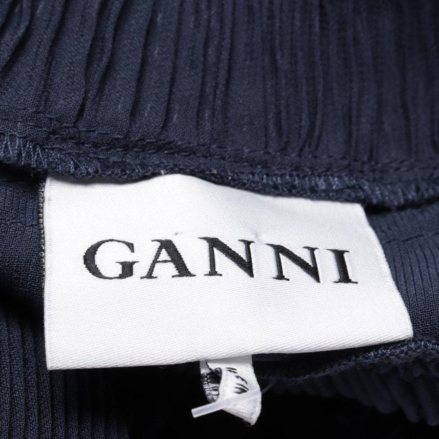 dress from Ganni in dark blue size S