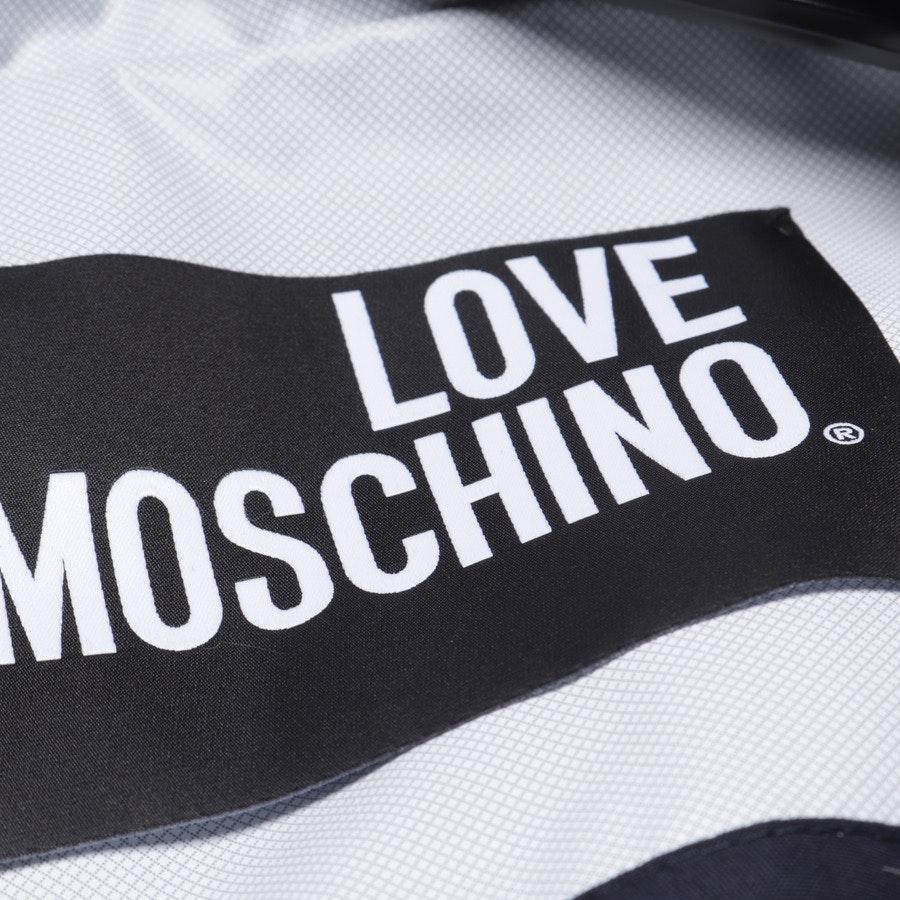 Übergangsjacke von Love Moschino in Dunkelblau Gr. 38 IT 42
