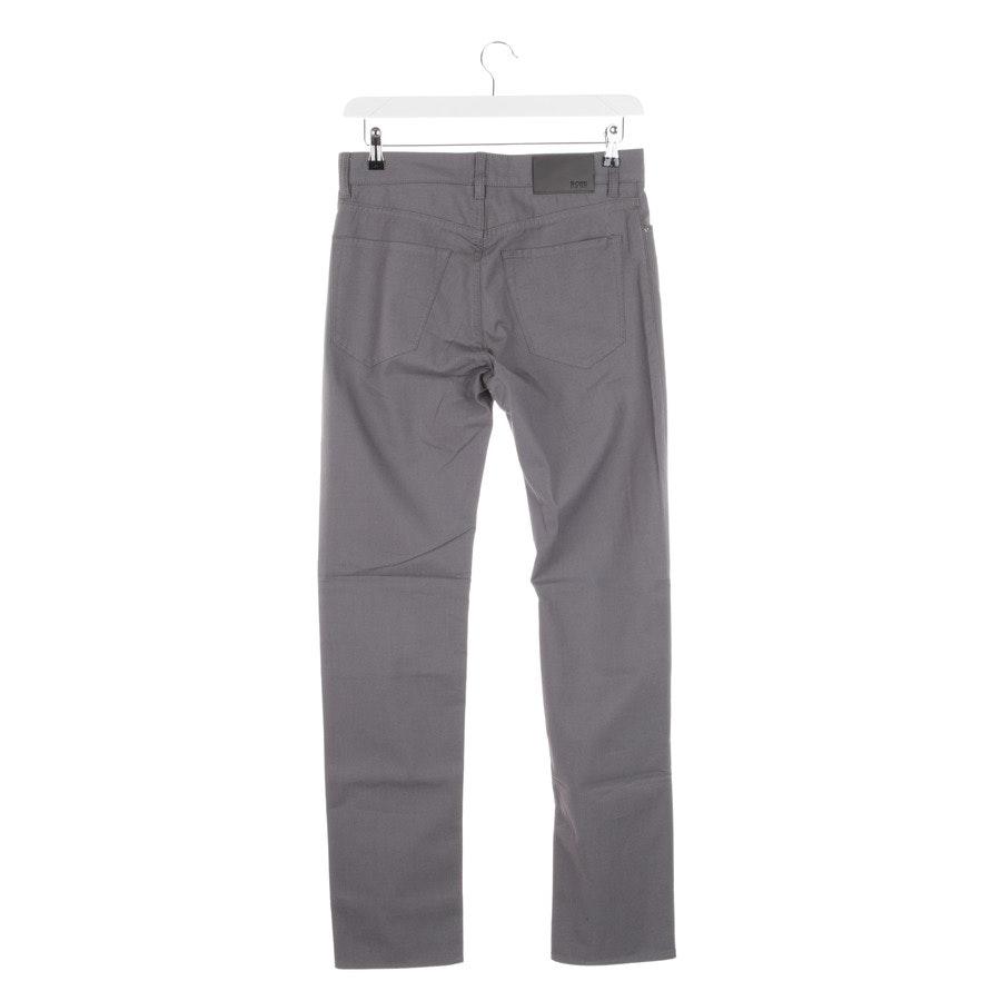 trousers from Hugo Boss Black Label in grey mottled size W30