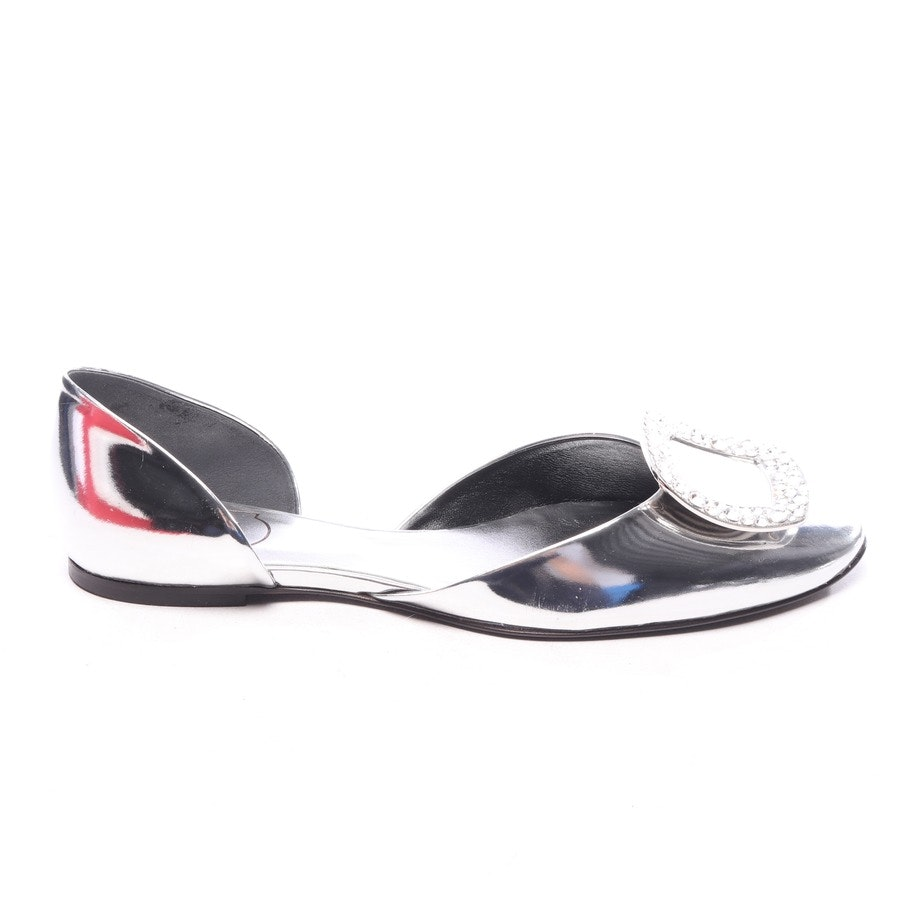 loafers from Roger Vivier in silver size EUR 39 - new