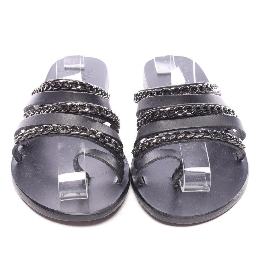 Sandalen von Ancient Greek Sandals in Schwarz Gr. EUR 38 - Neu