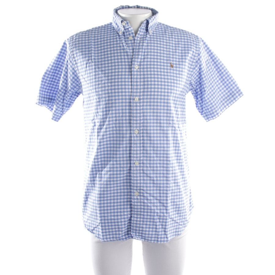 casual shirt from Polo Ralph Lauren in blue and white size XL