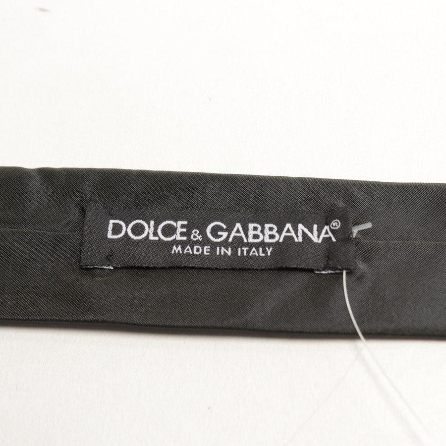 Seidenkrawatte von Dolce & Gabbana in Dunkelgrün