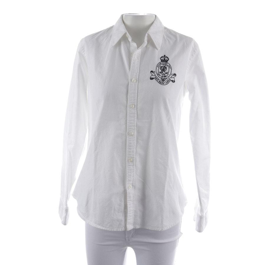 Bluse von Polo Ralph Lauren in Weiß Gr. 38 US 8