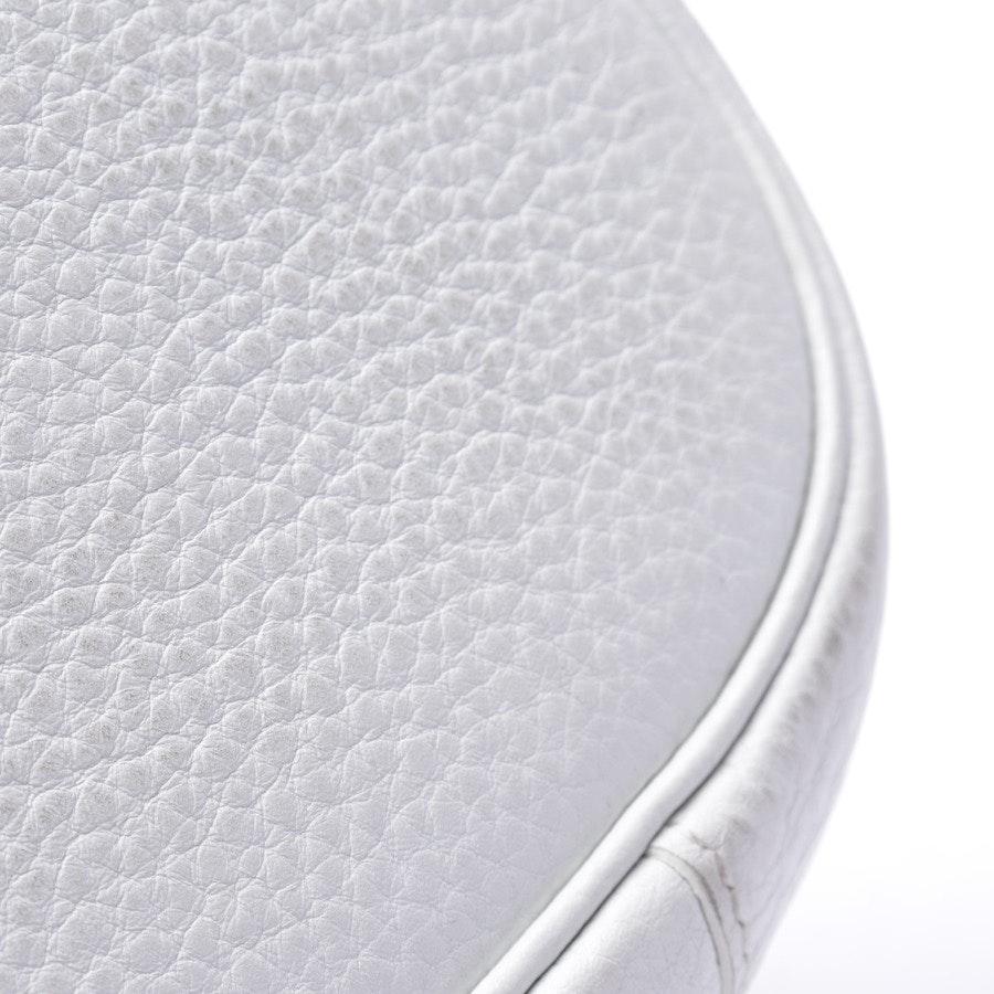 Schultertasche von Hermès in Weiß