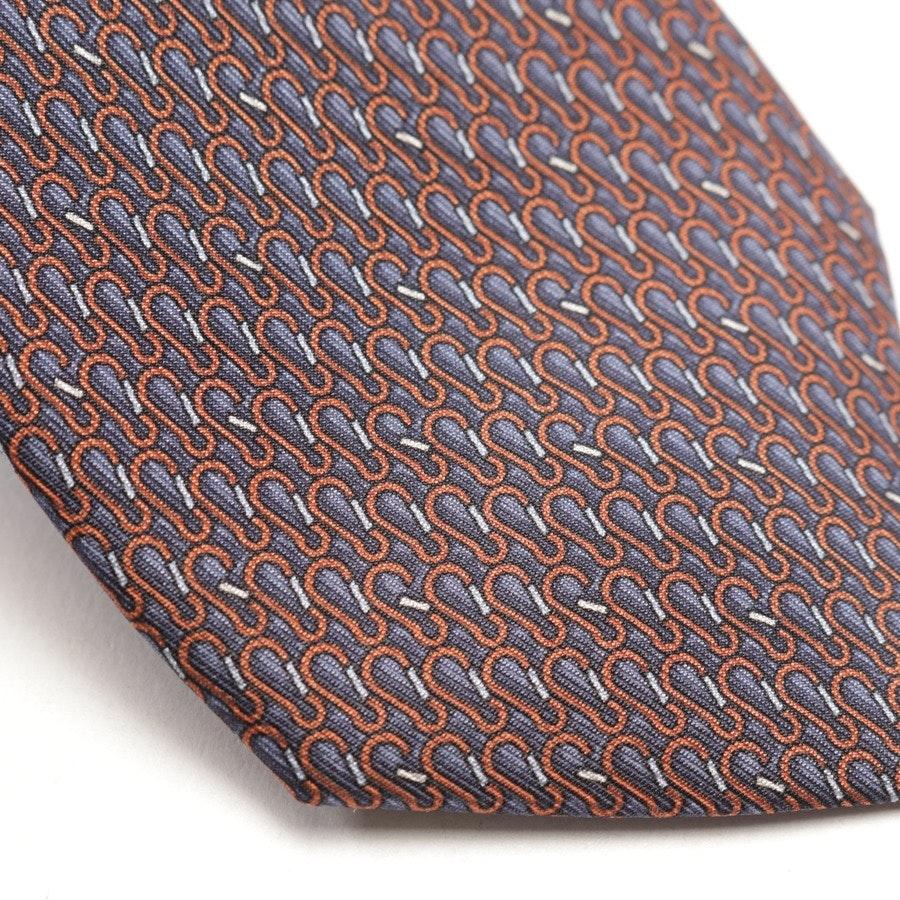 Krawatte von Gucci in Rotbraun und Blau
