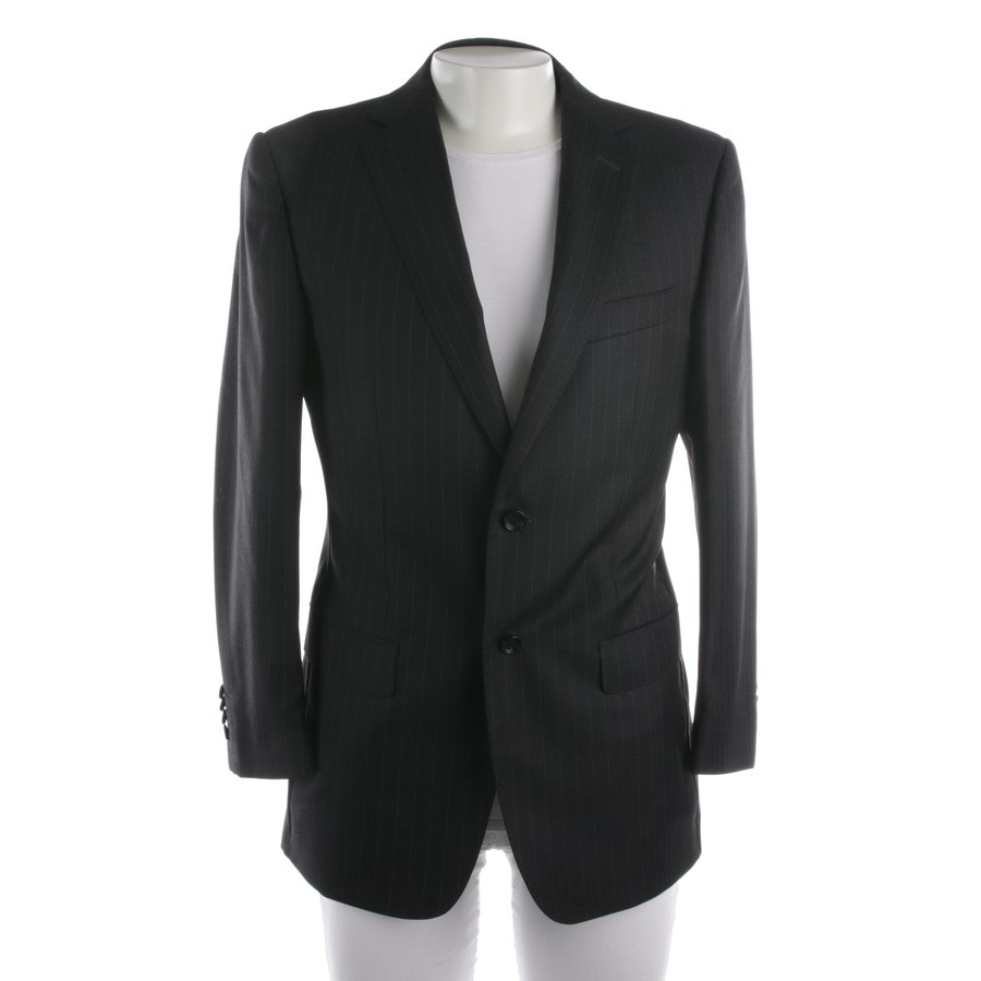 blazer from Zegna in black and purple size 48