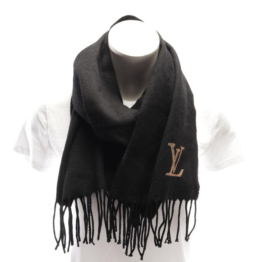 Kaschmirschal von Louis Vuitton in Schwarz