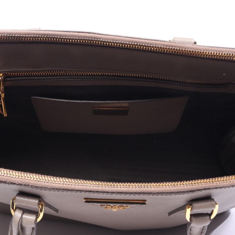 Handtasche von Prada in Grau