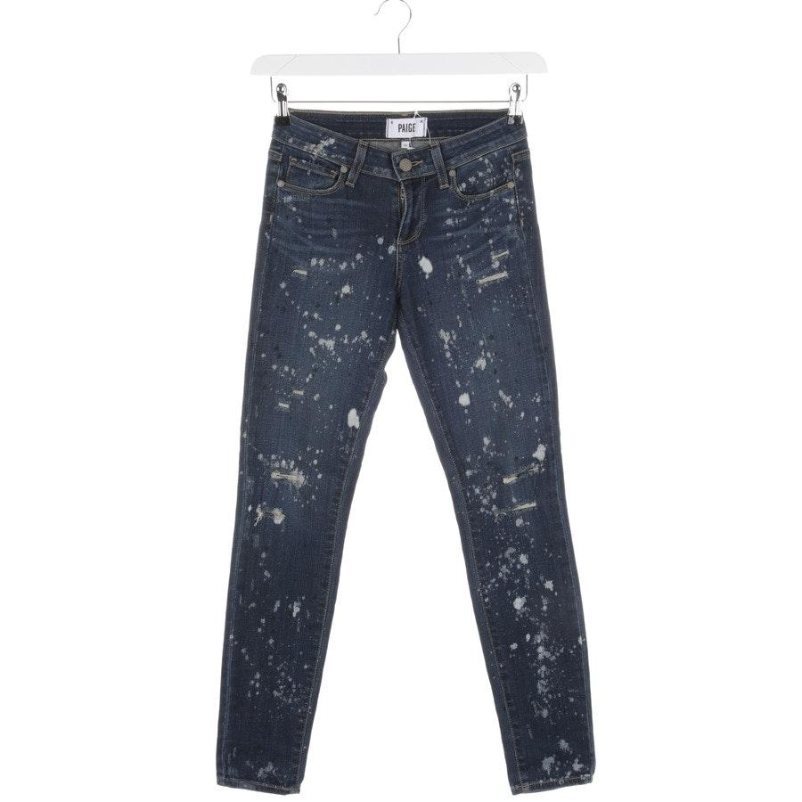 Jeans von Paige in Blau Gr. 25