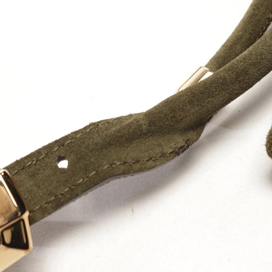 Taillengürtel von Burberry Prorsum in Dunkelgrün Gr. 85 cm
