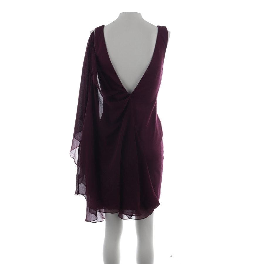 Kleid von Halston Heritage in Bordeaux Gr. 34 US 4