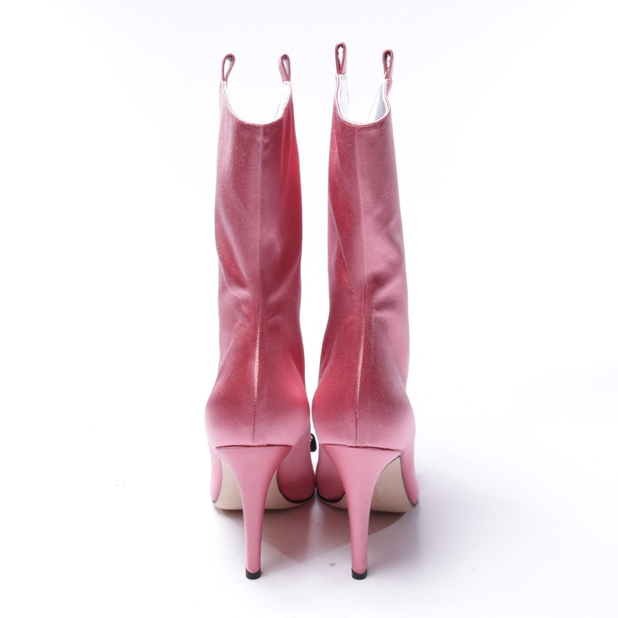 boots from Alessandra Rich in old pink and black size EUR 37 - new