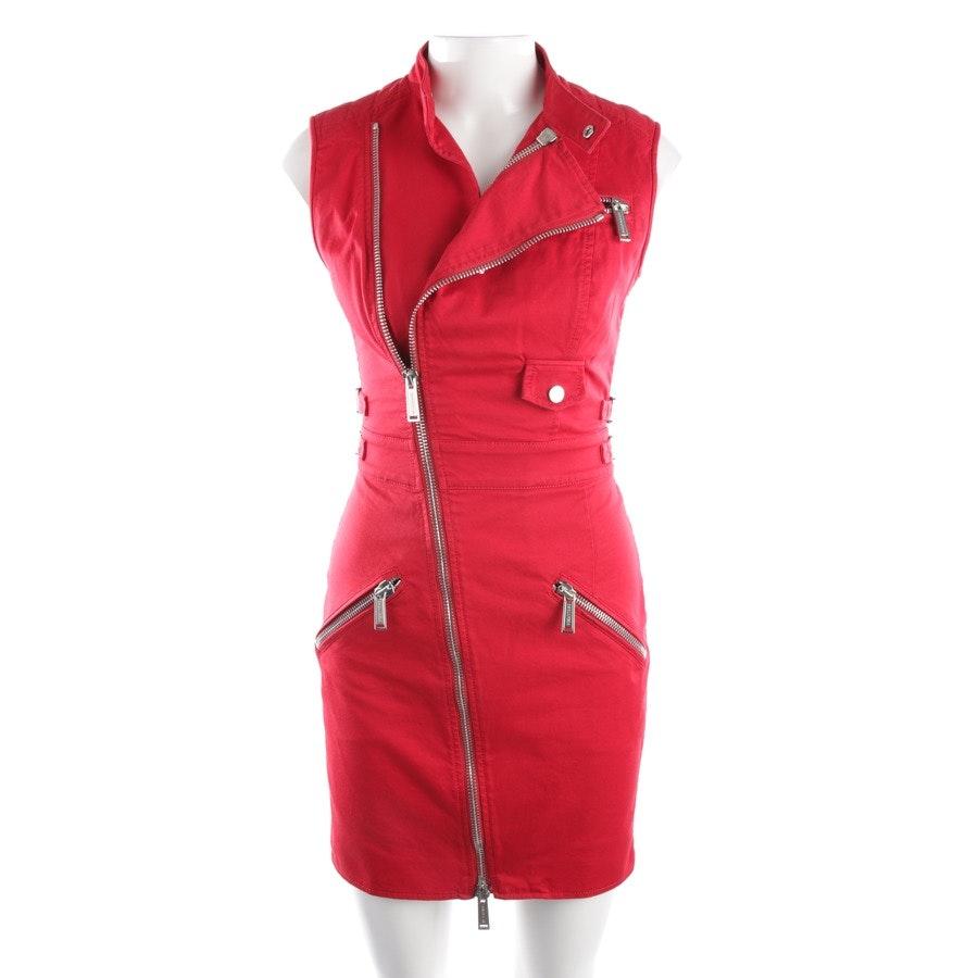 Kleid von Dsquared in Rot Gr. 34 IT 40