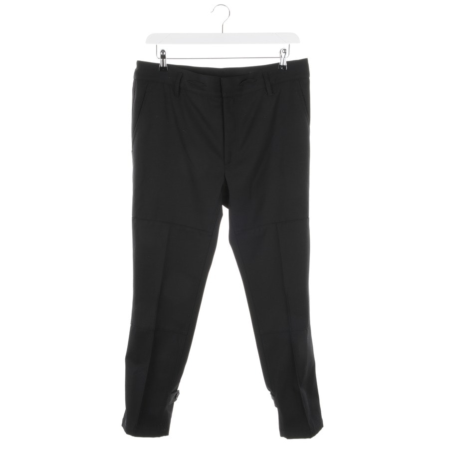 trousers from Marc Jacobs in black size 52